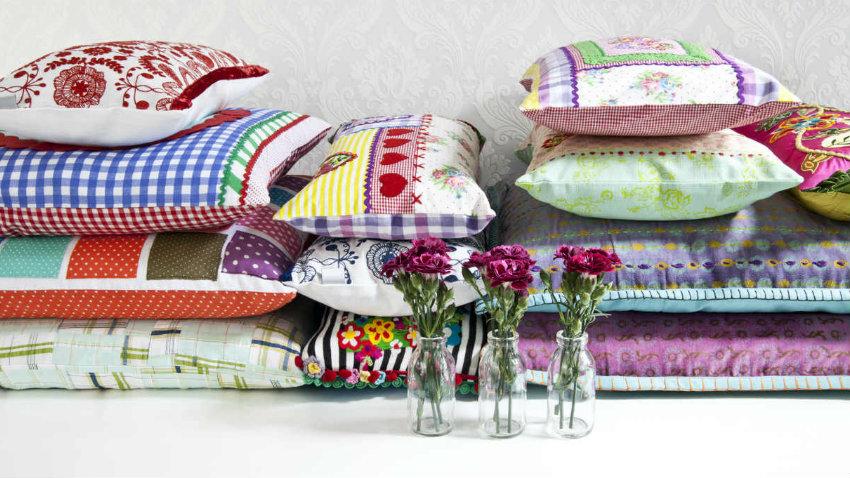 Dalani federe per cuscini 60 x 60 allegra stoffa colorata for Federe cuscini arredo