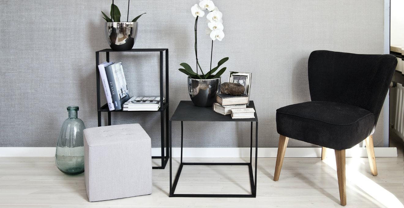 Dalani sedie nere glamour in una seduta di design for Sedie arancioni