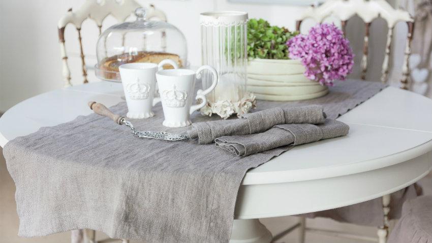 Dalani tovaglie di lino elegante e pratico arredo - Tovaglie da bagno ...