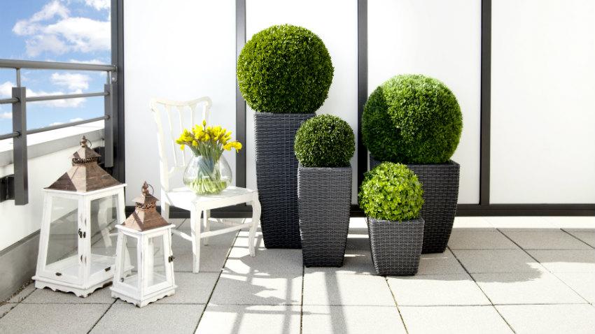 dalani vasi alti da esterno per un outdoor elegante