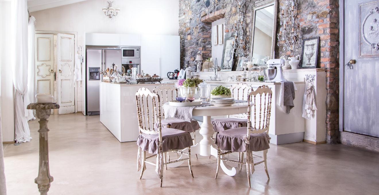 Cucina elegante  la raffinatezza tra i fornelli   DALANI -> Lampadari Cucina Eleganti