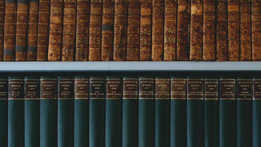 Libreria in ferro battuto