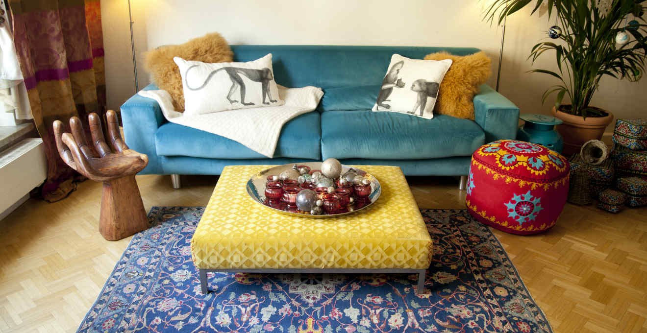 Dalani scrivanie etniche stile esotico per la casa for Arredamento colorato