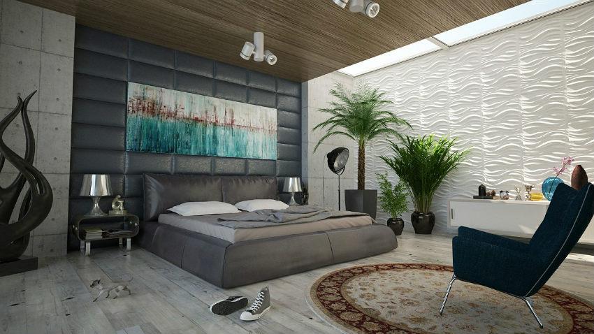 Camera da letto a ponte