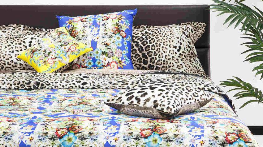 Lenzuola leopardate