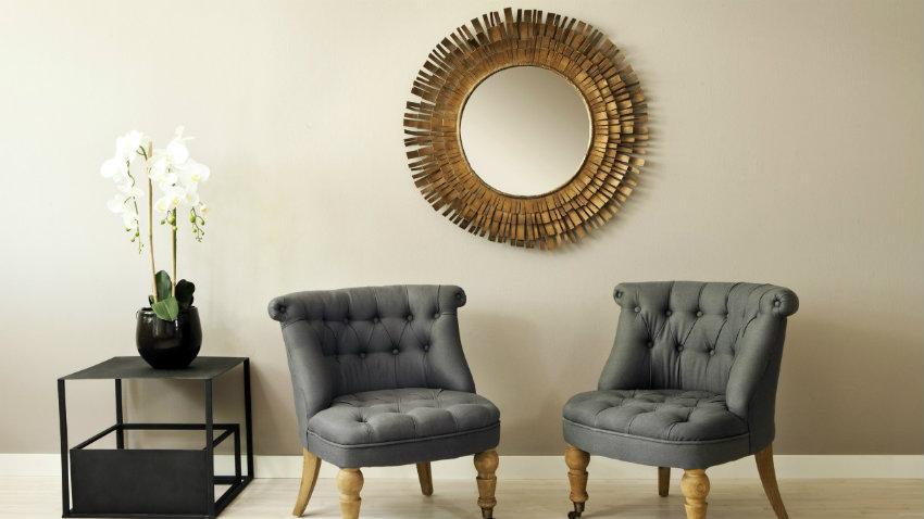 DALANI  Specchio per soggiorno: riflessi chic e magnetici