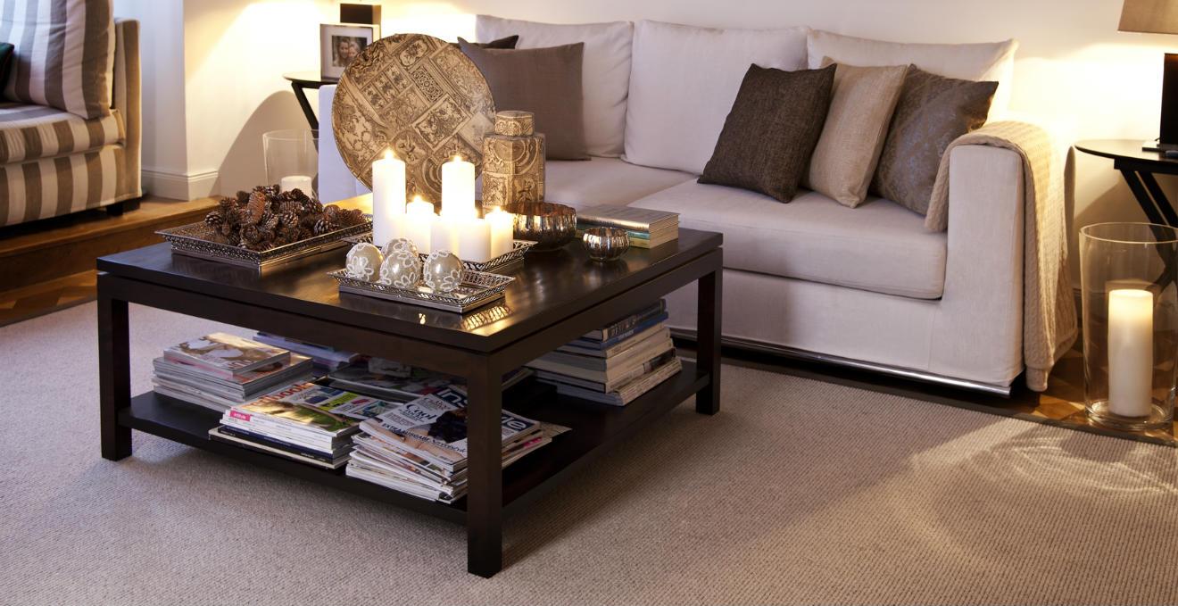Dalani come arredare casa con i mobili in legno weng for Soggiorno elegante