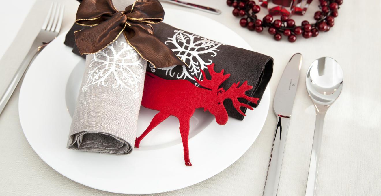 Piatti natalizi in ceramica
