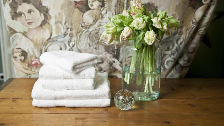 Asciugamani bianchi