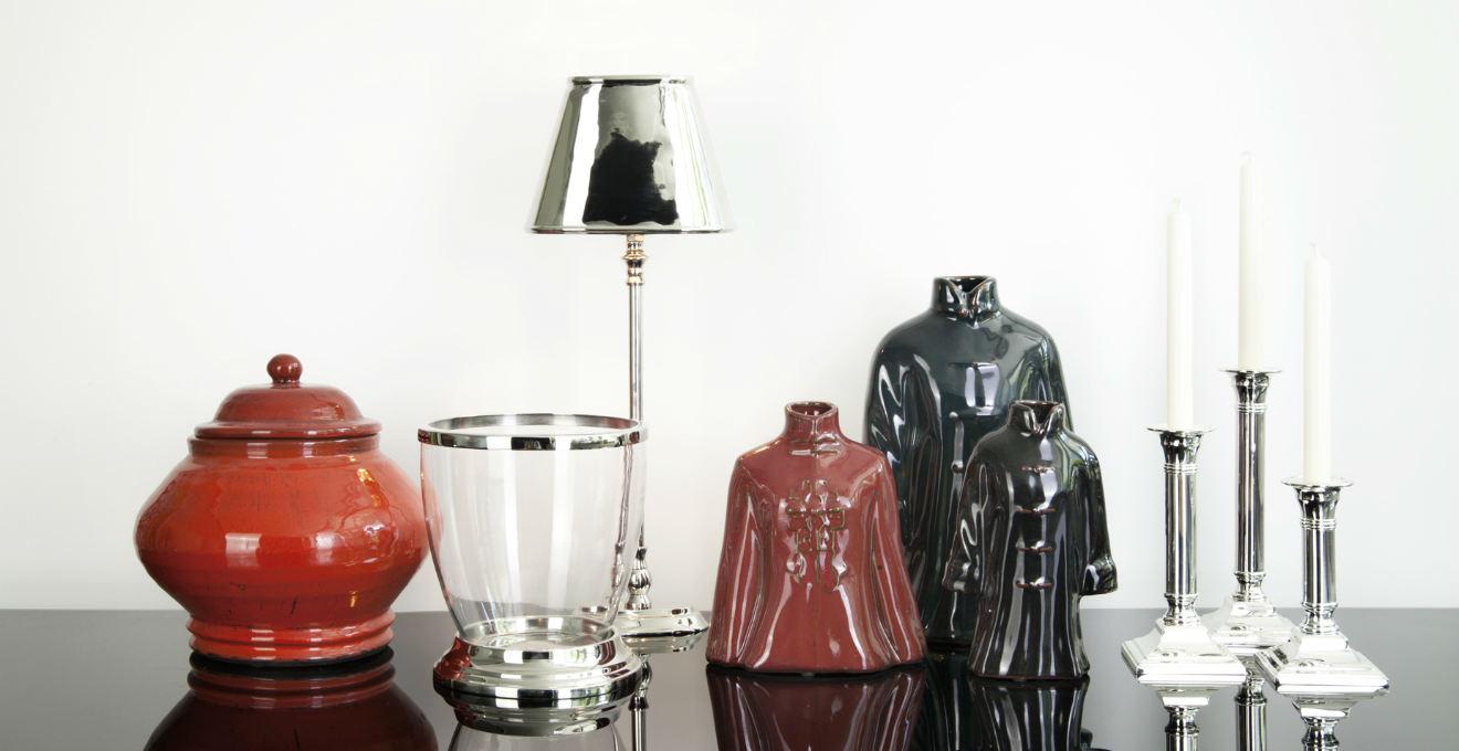 Dalani vasi rossi eleganza con brio moderno for Vasi rossi moderni