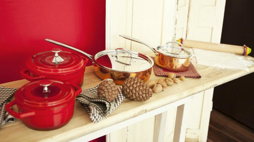 Carrelli da cucina pieghevoli