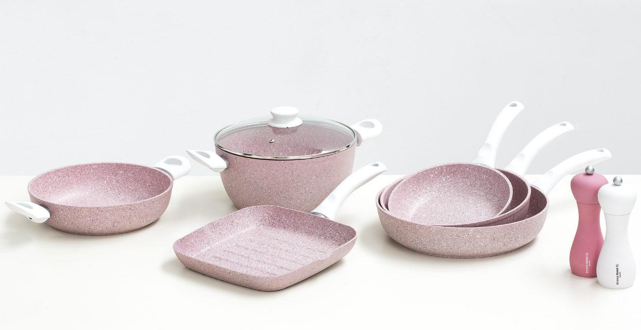 Cucina rosa un tempio di grazia e femminilit dalani - Cocina rosa ...