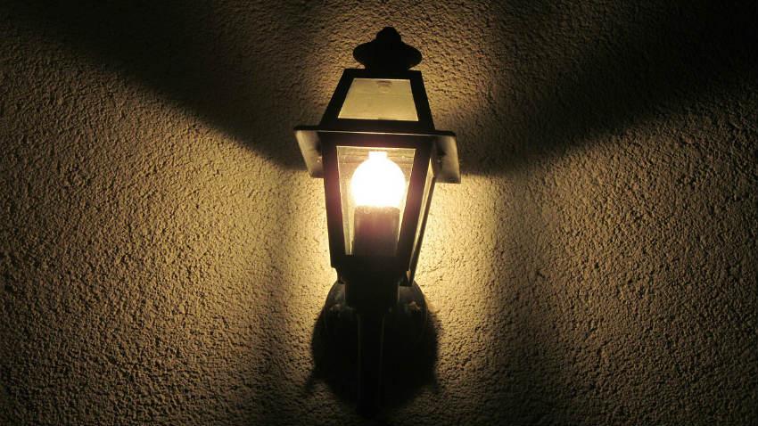 Filo di lampadine da esterno tutto su ispirazione design - Lampade esterno design ...