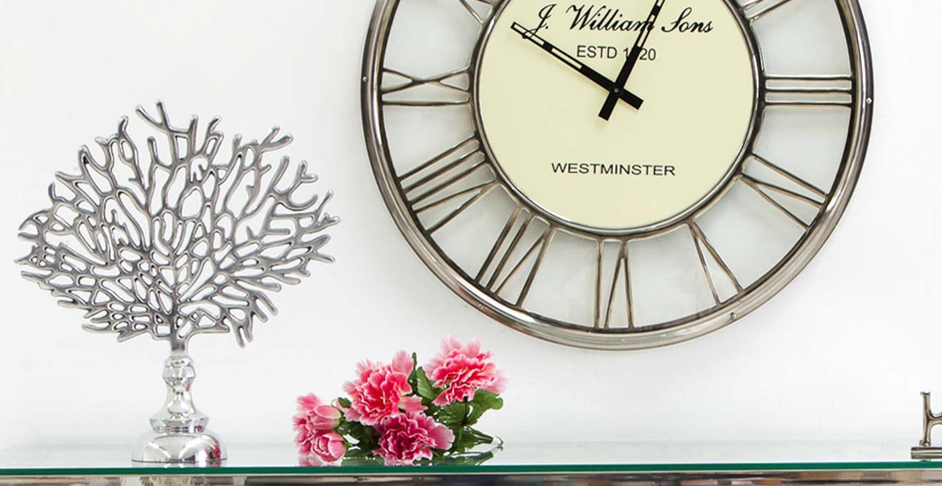 Dalani orologi da parete in vetro fragili momenti for Orologi da parete vintage
