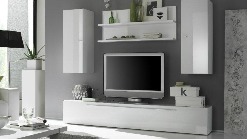Dalani parete attrezzata moderna mobili componibili - Parete attrezzata ingresso ...