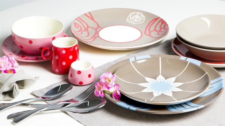 Dalani piatti decorati metti l 39 arte in tavola - Piatti da cucina moderni ...