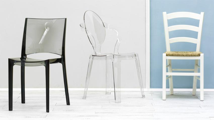 Dalani sedie da cucina moderne effetti minimal per il food for Sedie giardino moderne