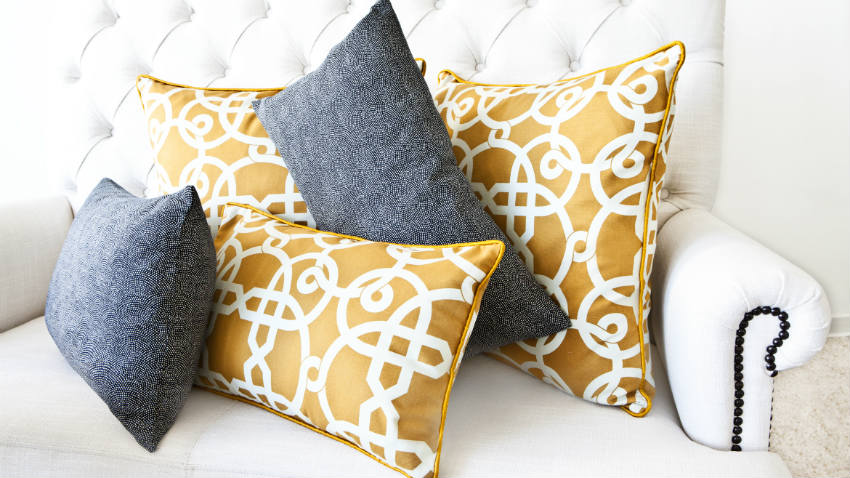 Cuscini gialli