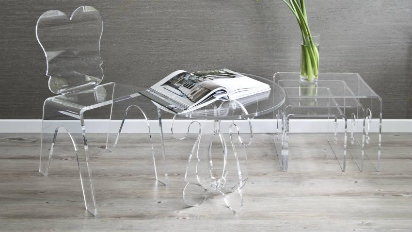 Dalani sedie in plastica trasparente note design for Sedie design policarbonato