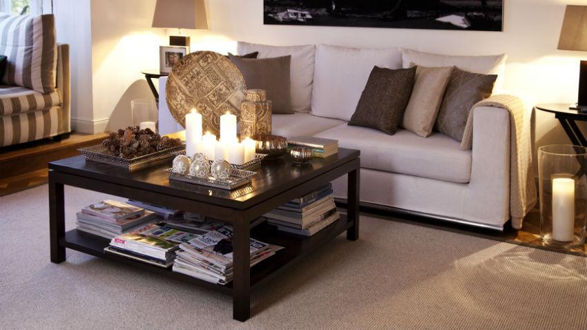 dalani | soggiorno in wengè: esotiche sfumature di legno - Soggiorno Wenge Moderno 2