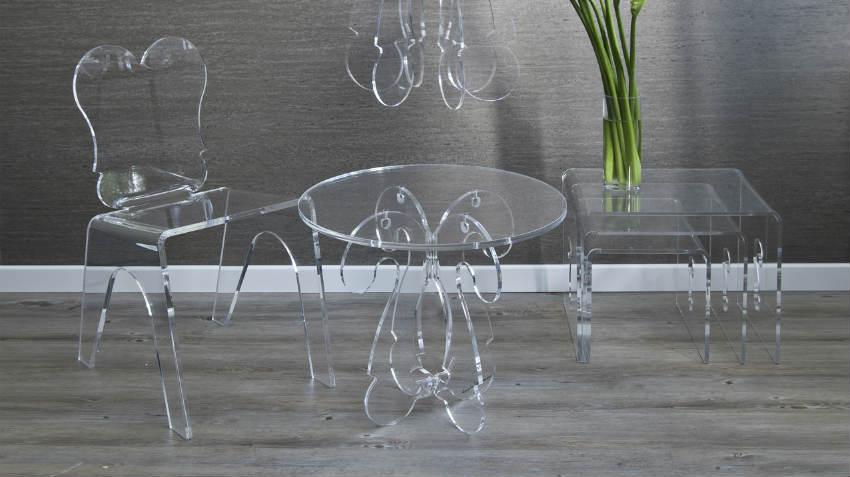 Tavoli in policarbonato