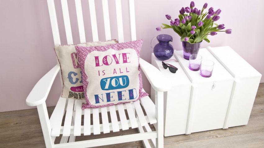Cuscini rosa
