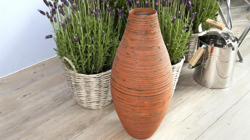 Dalani vasi di coccio atmosfera classica for Vasi alti per esterni