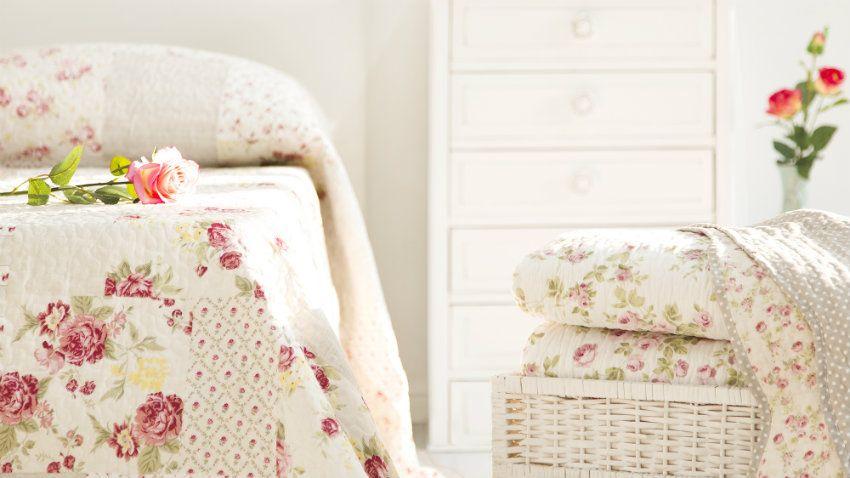 DALANI  Copriletto provenzale: stile e comfort per il letto