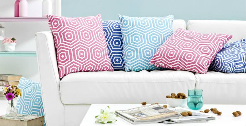 Dalani cuscini per divani accessori morbidi e di stile for Cuscini amazon