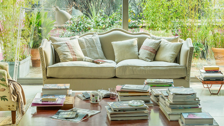 Dalani divani shabby chic per uno stile romantico - Casa stile romantico ...