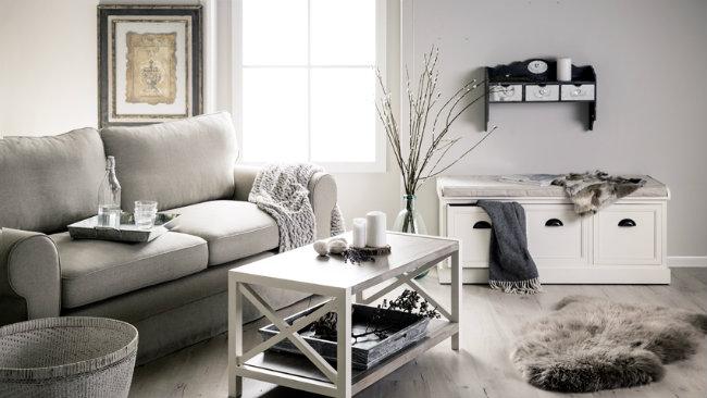 Dalani consigli e spunti per arredare un soggiorno grigio for Soggiorno grigio