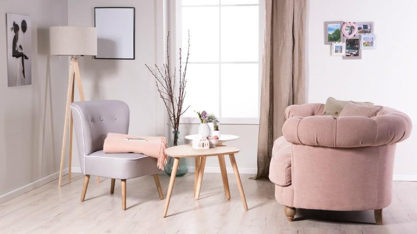Dalani tavolino rotondo da salotto evergreen di stile for Poltrone per salotto