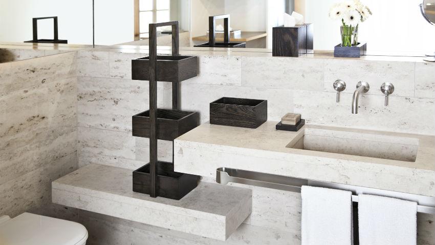 Dalani lavabo in resina stile moderno per il bagno for Lavabo design