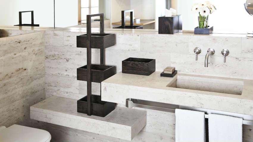 Dalani lavabo a colonna prodotti in ceramica per il bagno - Lavabo angolare bagno ...