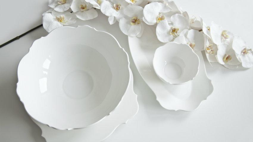 Piatti in porcellana moderni