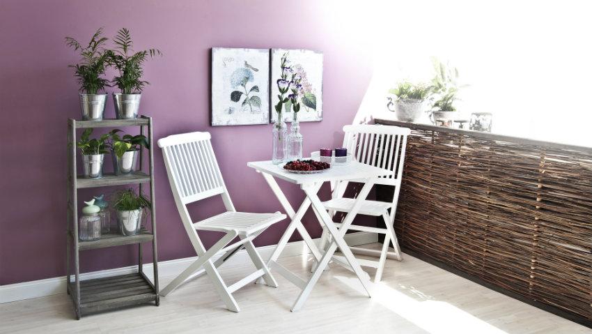 Dalani sedie da esterno in plastica accessori da giardino for Poltrone da balcone