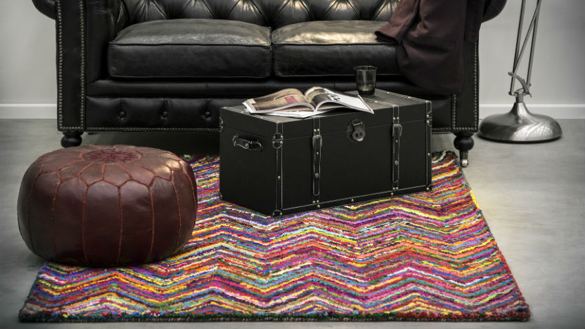Dalani tappeti quadrati tocco di stile in casa - Tappeti quadrati moderni ...