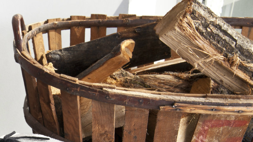 Mastello in legno