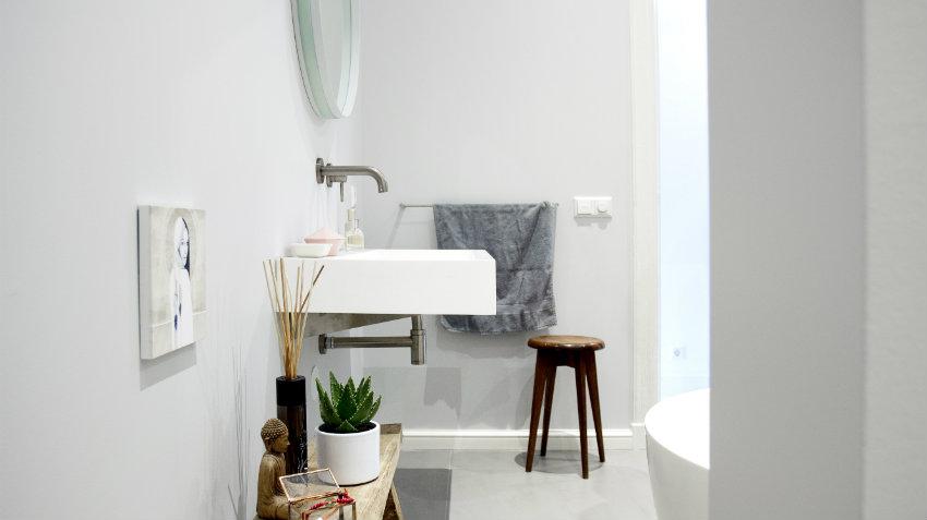 Dalani mobile bagno con lavabo da appoggio puro design - Mobili da bagno con lavabo ...