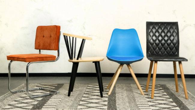 arredamento anni '70 sedie vintage