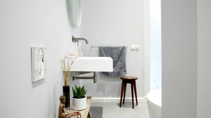 scaffali per bagno
