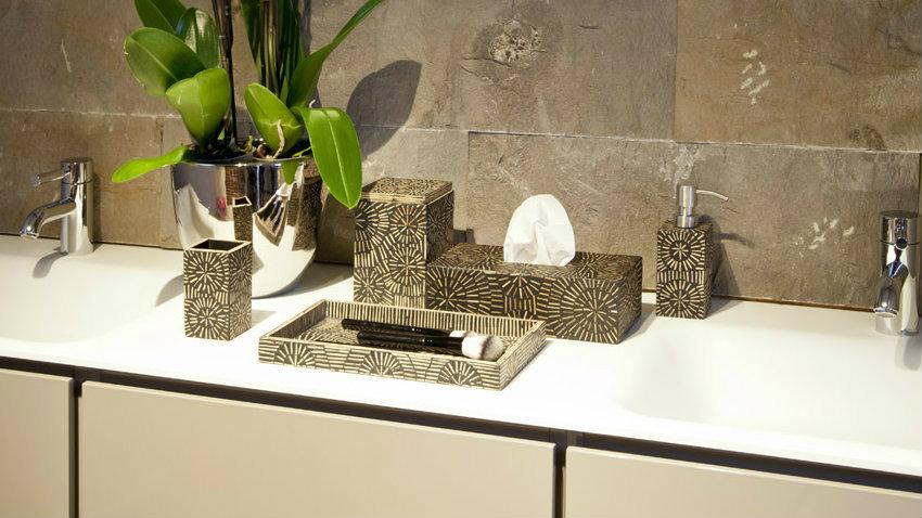 DALANI  Mobile bagno con doppio lavabo: bagno da sogno