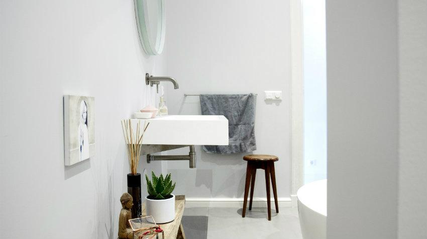 Bagno in stile industriale: essenzialità e comfort DALANI