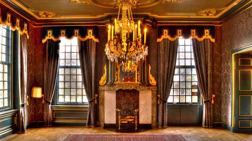 Tende da interni di lusso idea creativa della casa e for Interni di lusso