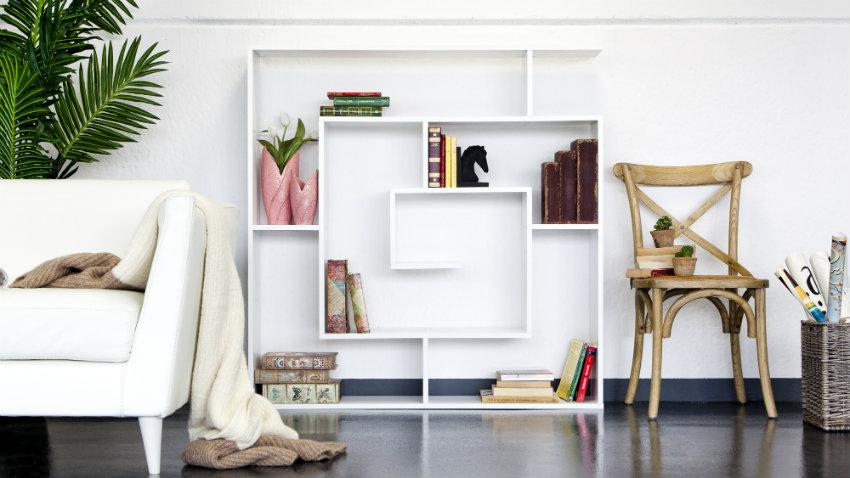 Libreria bifacciale elegante soluzione design dalani for Libreria dalani