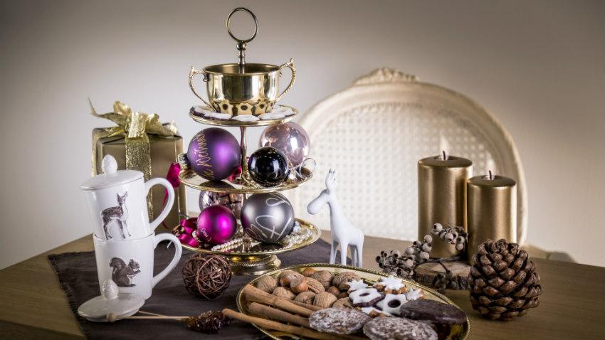 Kerst tafeldecoratie