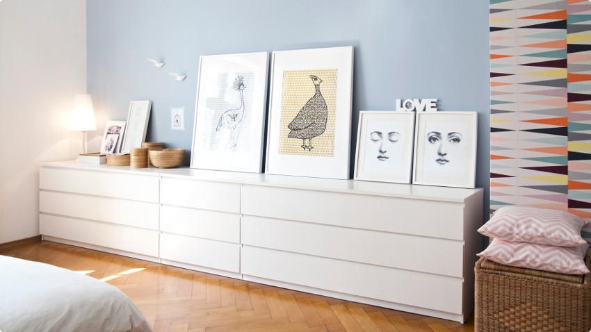 Hoogglans meubels