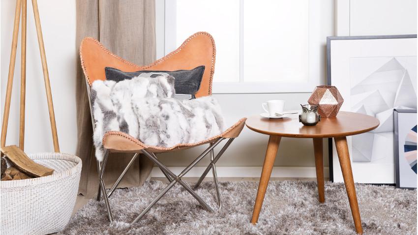 Een vlinderstoel voor in huis westwing for Keukenstoelen met wieltjes