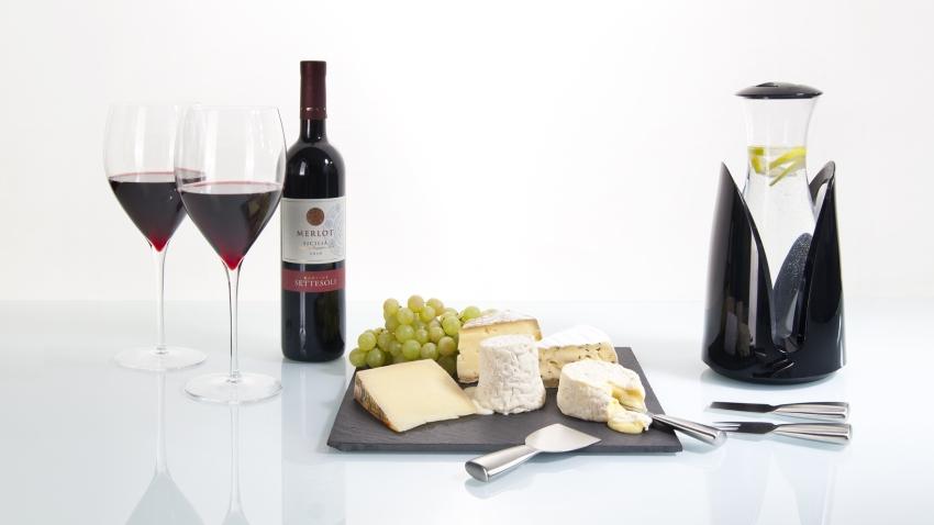 Wand wijnrek