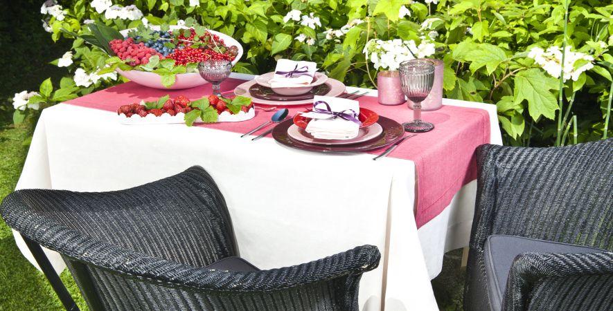 Wicker tuinset